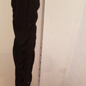 MICHAEL Michael Kors Dresses - MICHAEL Michael Kors black scrunch sides dress XS
